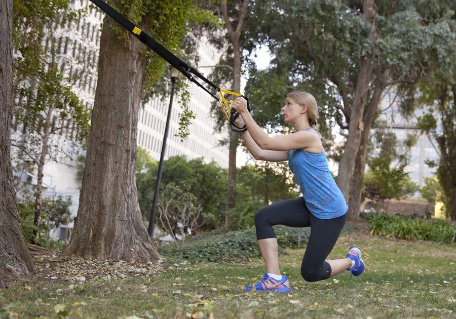 Kit TRX per rafforzare tono muscolare 18