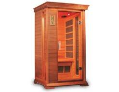 Cabina sauna a infrarossi in legno GD-200SC