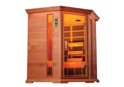 Cabina sauna a infrarossiin legno GD-450C