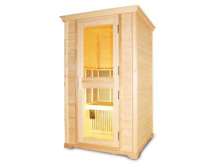 Cabina sauna a infrarossiin legno GX-1200SX