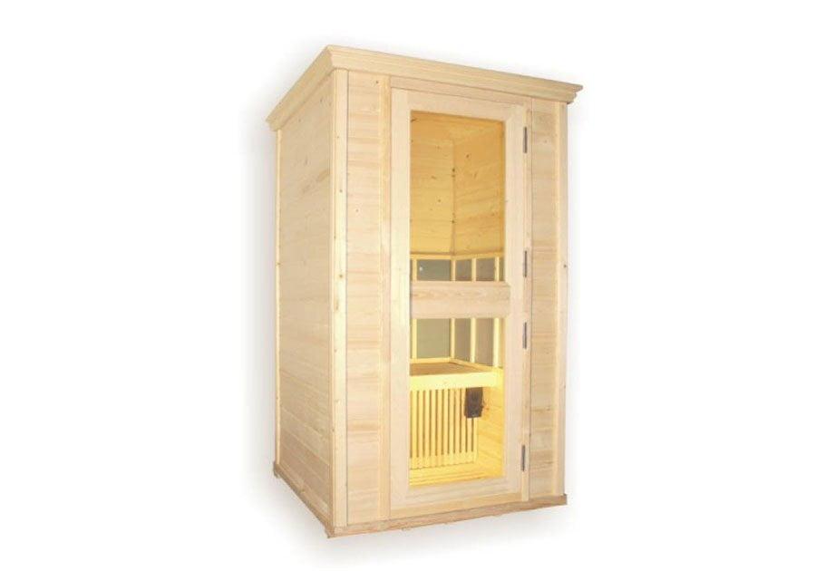 Cabina sauna a infrarossi in legno GX-1200SX