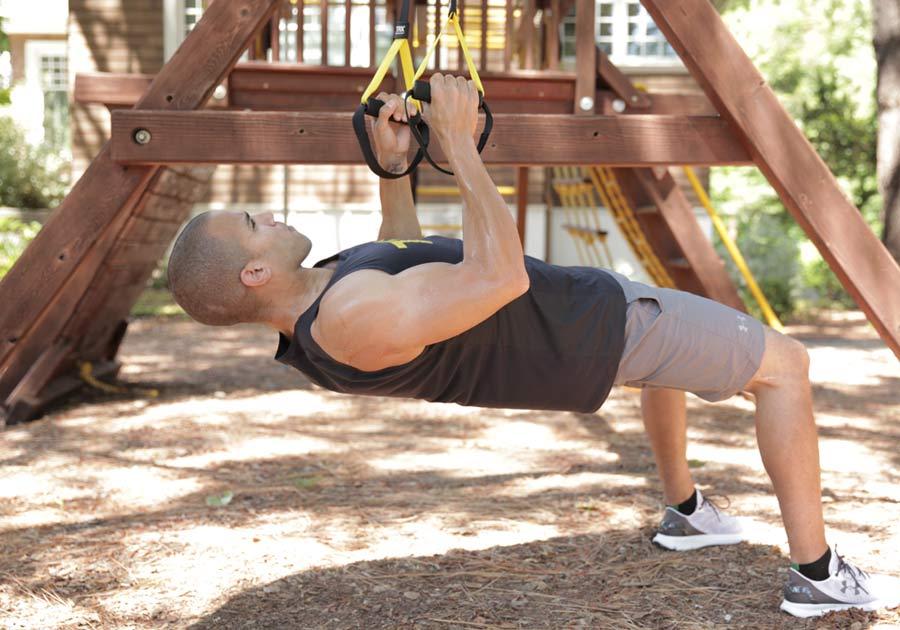 Kit TRX per rafforzare tono muscolare 22