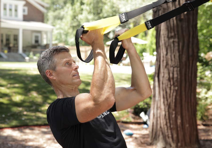 Kit TRX per rafforzare tono muscolare 23