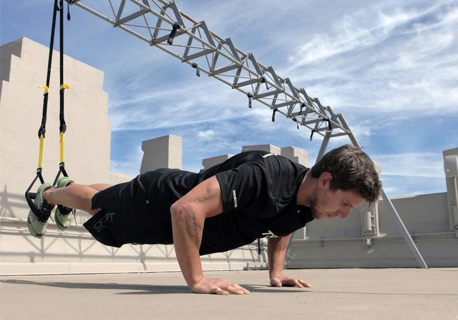 Kit TRX per rafforzare tono muscolare 5