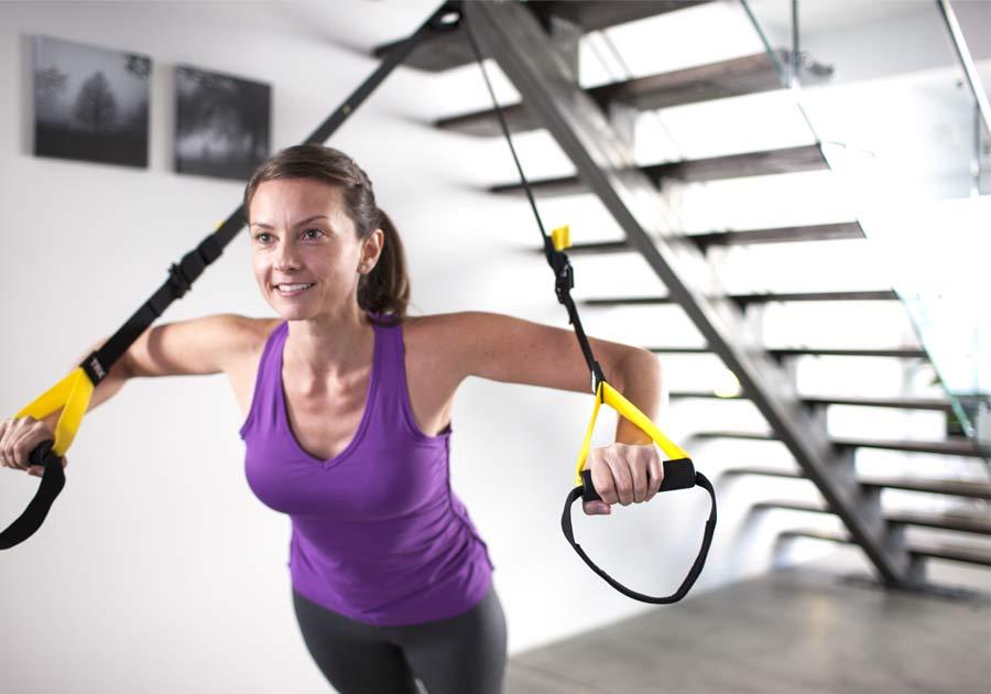 Kit TRX per rafforzare tono muscolare 10